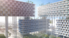 Barke Ingels Group elevates residential blocks on stilts for planned Miami development