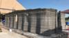 US military 3D prints concrete barracks on site