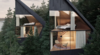 Peter Pichler Architecture Envisions Sustainable Tree Houses In The Italian Dolomites