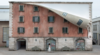 Alex Chinneck unzips a building in Milan's Tortona district