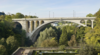 Christian Bauer Suspends Pedestrian And Cycle Path Beneath Pont Adolphe In Luxembourg