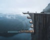 Hayri Atak Envisions a Boutique Hotel Suspended Over a Cliff Edge in Norway