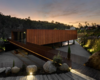 MMV Arquitectos Elevates a Corten Steel Clad Volume for Events Space in Porto