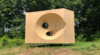 New sculpture by Steven Holl installed at the Art Omi Sculpture and Architecture Park