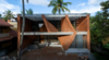 Luminous, Undulating Brickwork Defines Wallmakers' Pirouette House in India