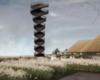 BIG-designed observation helix revealed for Denmark's Wadden Sea National Park