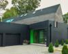 Stuart Shanks & B^Space Studio Insert Pops of Color within Suburban House in New York