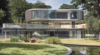 Curved Glass Façades Articulate Eldridge London's 'House In Coombe Park'