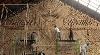 Agnes Hansella Hangs Massive Macramé Wall Trio on a Seaside Structure in Bali