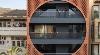 Grand Circular Aperture Within Square Brick Screen Dominates AKDA's Family House in India