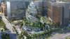 NBBJ's spiraling glass Helix will anchor Amazon's HQ2 in Arlington