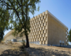 Self-Supporting Perforated Limestone Facade Has Given Full-Bodied Form To A Winery In Provence