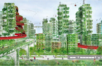 Plant-Covered Cities to Eliminate Pollution