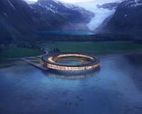 Arctic Circle's First Energy Net-Positive Hotel