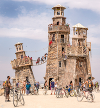 Building Burning Man