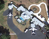 The Travolta Residence: Equipped with an Airport