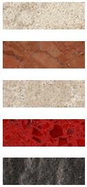 traffic stone, agglo simplex, marghestone, stardust, wave