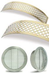 Curved Round Grille