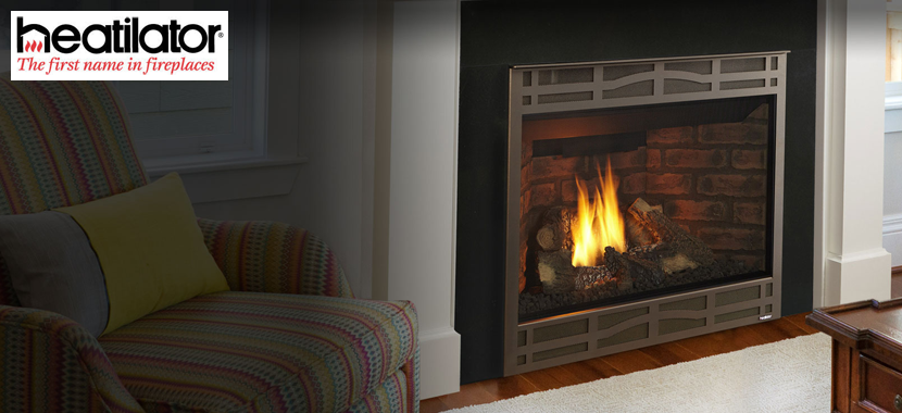 Gas Fireplaces for Space Heating and Ambiance Series