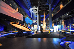 The acoustical design, AV and control systems for Science Storms, the western hemisphere's most amazing science exhibit