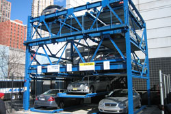 Semi-Automated Lift-Sliding System