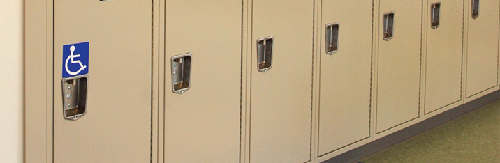 ADA-Compliant Lockers