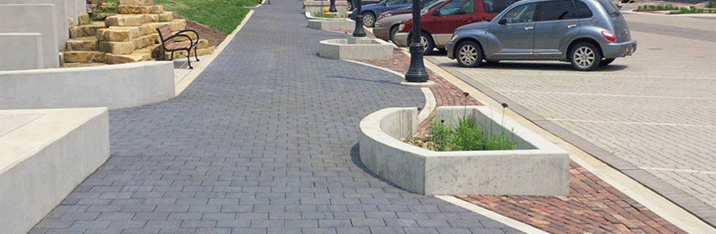Permeable Interlocking Concrete Pavement