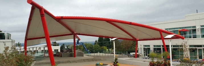 Tensioned Fabric Structures
