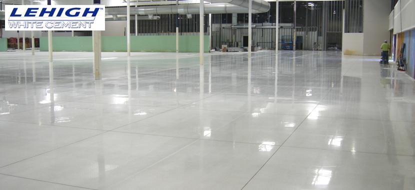 Reflective Concrete Floors
