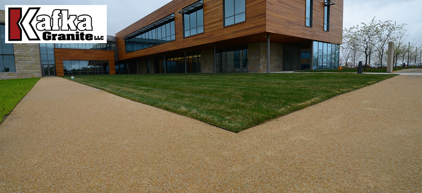 Permeable Aggregate Walkways