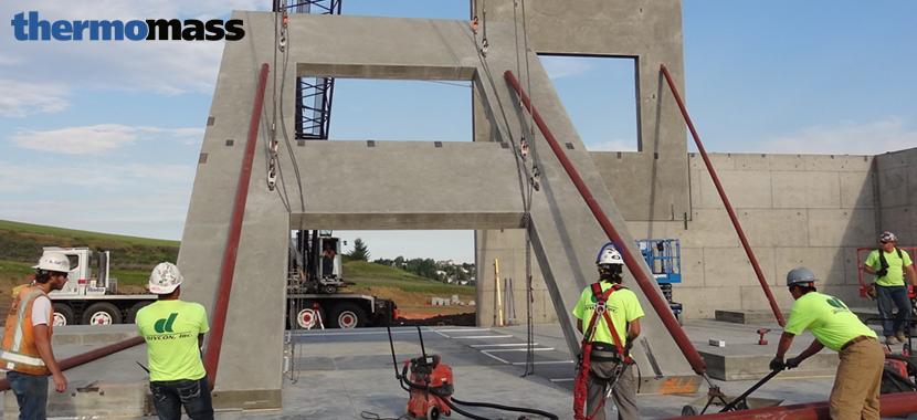 Integrally-Insulated Concrete Tilt-Up Panels