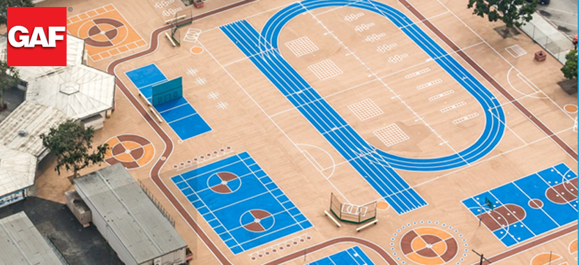 Transform Asphalt Playgrounds with Low-Cost Coatings