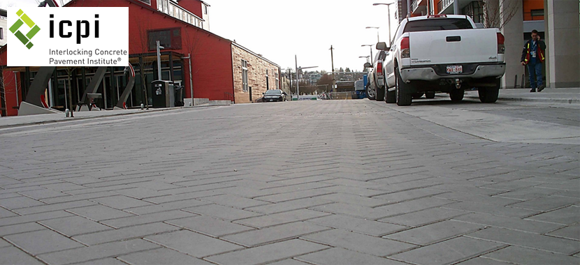 Roadway Design with Concrete Pavers