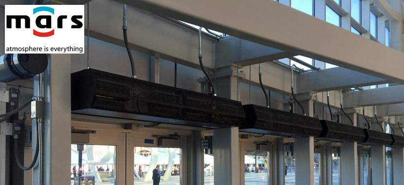 Energy Savings with Air Curtains