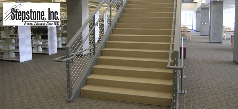 Precast Concrete Stair Treads and Landings