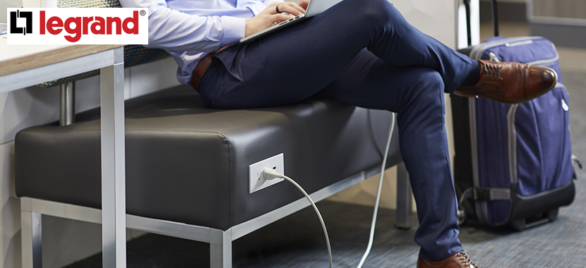 Power and Charging Solutions for Today's Commercial Spaces
